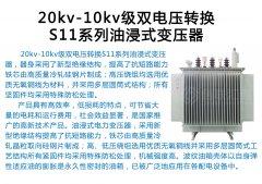 <b>20kv-10kv级双电压转换S11系</b>