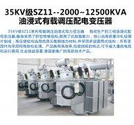 <b>35KV级SZ11--2000~12500KVA</b>