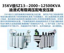 <b>35KV级SZ13--2000~12500KVA</b>